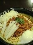 「メニュー名失念(汁無し坦々麺)大盛」@そらまめ拉麺本舗の写真