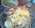 「つけ麺味玉入り」@らーめん大 大森店の写真