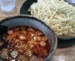「辛味醤油つけめん(辛味追加)」@つけ麺屋 ごんろく 両国店の写真