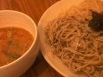 「二色つけ麺 (大盛り)」@くすのき亭の写真