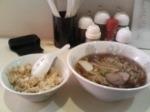 「ラーメン+半チャーハン」@中華料理 大勝軒の写真