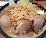 「味噌ラーメン(豚骨)」@つけ麺中華そば 節 本八幡店の写真