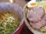 「醤油とんこつつけ麺」@豚骨らーめん いちご家の写真