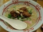 「楊香鶏ちゃんぽん」@長崎ちゃんぽん リンガーハット 新宿神楽坂店の写真