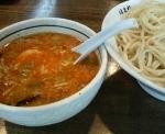 「つけ麺黒(大盛)」@こってりらーめん 誉の写真