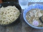 「つけめん+豚ほぐし+味玉」@六厘舎 本店の写真