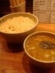 「味玉つけ麺(大盛り)」@麺屋吉左右の写真