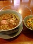 「ランチセット(ラーメン+ミニ親子丼)」@おだ亭の写真