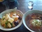「ラーメン 中華丼 790円」@中華屋敷の写真