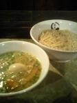 「鶏白湯つけ麺(塩)」@らーめん愉悦処 鏡花の写真