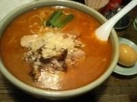 「チーズ風味の味噌らぁめん+たまごトッピング」@らぁめんの店 小櫻の写真