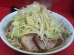 「小ラーメン(ニンニク、野菜マシ)」@ラーメン二郎 環七一之江店の写真