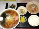 「ランチ(醤油ラーメン)」@いわはなや食堂の写真