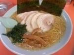 「チャーシューメン (コッテリ・カタメ) ¥720 辛味スパイス 」@ラーメンショップ 尾島店の写真