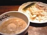 「塩ダレつけめん+煮玉子」@らーめん やじるし 下北沢店の写真