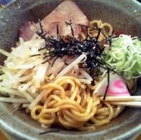 「油そば+大盛(¥700)」@らあ麺 やったる 新宿店の写真