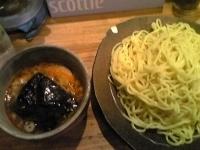 「辛味つけ麺 大盛」@つけ麺屋 やすべえ 新宿店の写真
