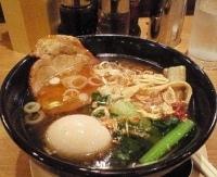 「味玉ラーメン(醤油)+叉焼飯」@麺屋 空海 川崎ダイス店の写真