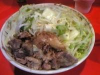 「らーめん にんにく野菜」@ラーメン二郎 府中店の写真