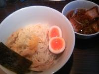 「つけ柚子(柚子つけ麺+穂先竹+ごまたまご)¥930」@京鰹節つけ麺 愛宕 ATAGOの写真
