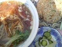 「半チャーハンとラーメンセット¥720」@中華料理 幸楽の写真