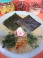 「ラーメン 醤油 (固め・コッテリ) ¥550」@ラーメンショップ 尾島店の写真