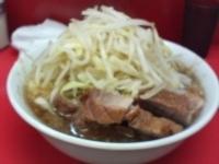 「小ラーメン(ニンニク、野菜)」@ラーメン二郎 小岩店の写真