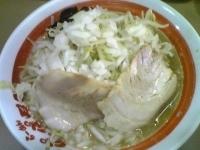 「ラーメン 野菜・たまねぎ」@ら〜めん ぽっぽっ屋 本店の写真