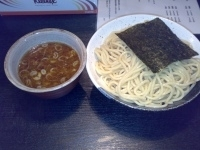 「つけ麺の中盛」@BASSO ドリルマンの写真