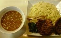 「つけめんあぶりちゃーしゅー 味濃い目 麺固め 大盛り」@拉麺工房 暁の写真