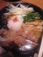 「冷やしラーメン+鶏どん」@麺屋 空海 川崎ダイス店の写真