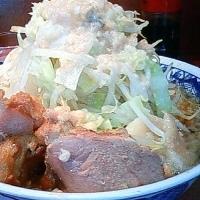 「ラーメン ニンニクアブラ少し多め (600円)」@らーめん大 大森店の写真