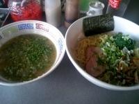 「10 醤油つけ麺 ¥750」@ハングリードラゴンの写真