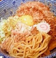 「武士系和え麺 (680円)」@らあめん花月嵐 蒲田西口店の写真