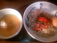 「トマトの和えつけ麺+味玉 ¥950」@麺屋武蔵 青山の写真
