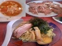 「つけ麺 醤油 ¥720 おつまみチャーシュー(サービス券失効5枚」@天下無双らーめん トントコトンの写真