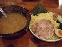 「みそつけ麺+大盛り」@火門拉麺の写真