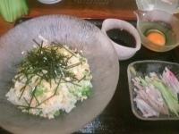 「冷やしぶっかけ麺 ¥750」@ラーメン雅の写真