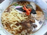 「ラーメン(ご飯・漬物・ところてん付) ¥550」@カネダイの写真