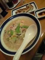 「ちゃんぽんランチA(¥650)」@長崎ちゃんぽん リンガーハット 赤坂見附店の写真