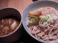 「もつそば(大盛り)(つけ麺タイプ)」@和醸良麺 すがりの写真