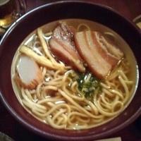 「沖縄そば」@琉球料理 朱里天楼の写真