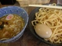 「つけ麺+海老玉」@六厘舎 本店の写真