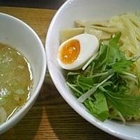 「塩つけ麺 800円+大盛 100円」@麺食堂 Xの写真