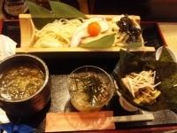 「海苔梅八寸麺(らーナビ限定、終わっています)」@麺屋 白神の写真