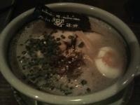 「ひびきらぁめん(ハリガネ)+替え玉(ハリガネ)」@食彩麺酒房 響の写真