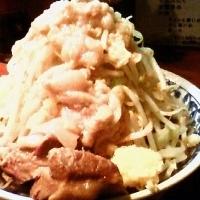 「ラーメン ヤサイちょっと多めアブラ (600円)」@らーめん大 大森店の写真