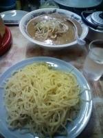 「味噌つけ麺 650円」@弥生亭の写真