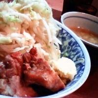 「つけ麺 (650円)」@らーめん大 大森店の写真