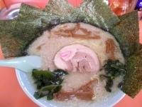 「ラーメン(超コッテリ・麺カタメ)¥550 メンマ増し¥120 の」@ラーメンショップ 尾島店の写真